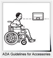 ADA Guidelines For Accessories In Public Restrooms