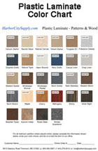 Plastic Laminate Patterns And Wood Color Chart Thumbnail