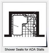 Shower Seats In Accessible Bathing Facilities